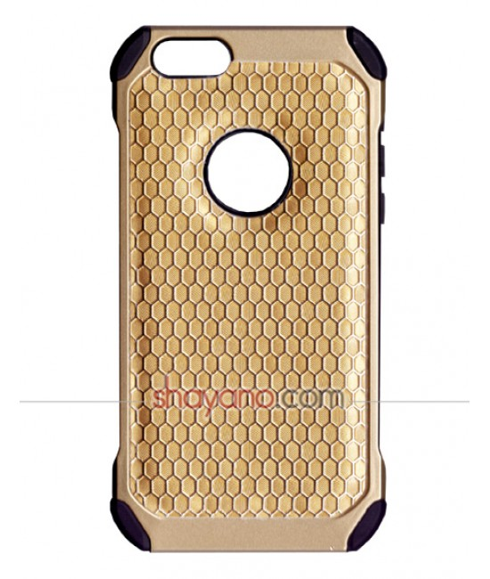 قاب گوشی آیفون JDK anti-shock Gold Armor Series for Apple iphone 6/6s کد 611