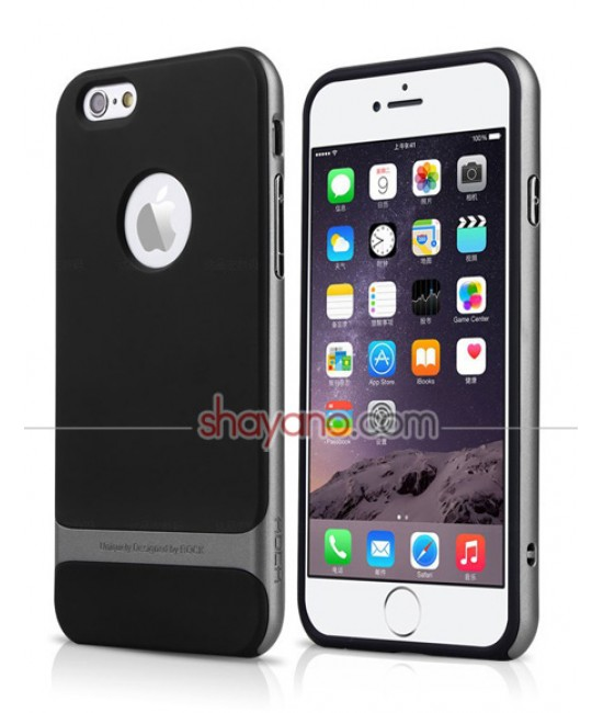 قاب گوشی آیفون Rock Royce Series Slim Hybrid Protective Case for iPhone 6/6s کد 614