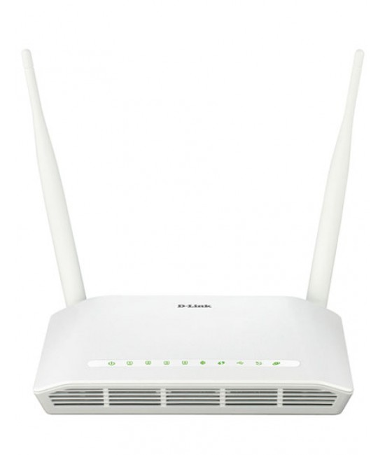 مودم بی سیم D-Link DSL-2750U New N300 ADSL2+ Wireless Router