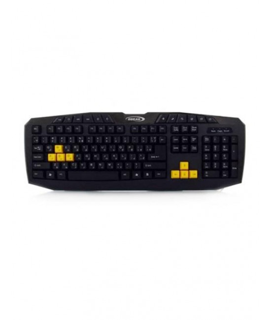 کیبورد OSCAR V-K521 Gaming Keyboard